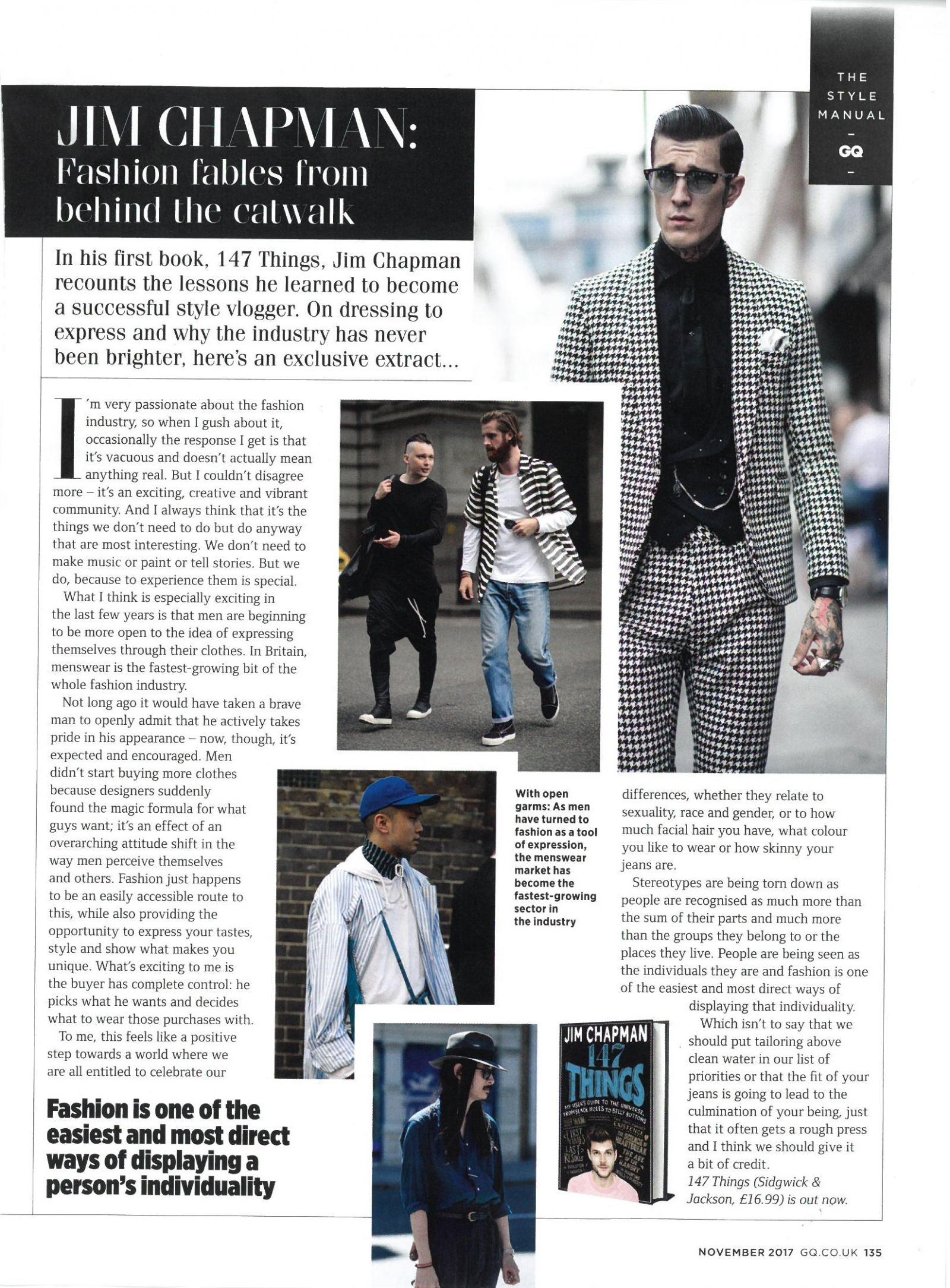 JC - GQ November Issue